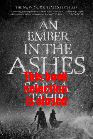 An Ember in Ashes book cover
