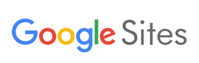 Google Sites Logo and link.