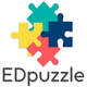 EDpuzzle logo and link to website