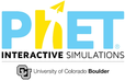 PhET Logo and Link to simulations website
